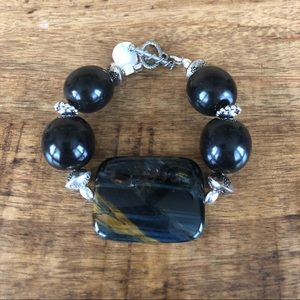 Jewelry - *Moving Sale* Brown, black and silver bracelet